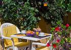 Petit déjeuner Terasse Hôtel Princess Vernet les Bains t
