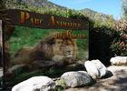 entrée du parc animalier de casteil