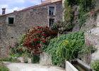 huis met rozen