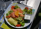 salade - brasserie - camping l'océan