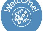 Logo Welcome c'est beau ici 2018-2020