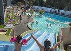 piscine - toboggan extérieur - camping l'océan