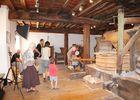 l'intérieur du moulin de sinsat