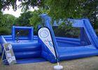Base de loisirs de l'ASPSCA - le terrain de foot gonflable