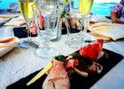 champagne 52 colombey les deux eglises la grange du relais restaurant assiette plats.