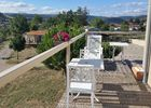 Vue sur Luzençon, terrasse plein sud !