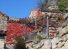 Terrasse en automne