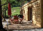 Le Chalet de Bois en Aveyron - Vue sur les vignes