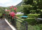 jardin ( vue depuis  la terrasse )