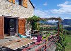 Terrasse Gite de Cabrieres