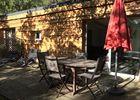 Terrasse Le Chalet de Bois - Location nature près de Millau