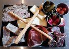 La planche de charcuteries et fromages de l'Aveyron