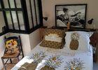 Le Mas Albizia - Chambre parentale avec verrière - ambiance summer