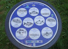 Circuits d'orientation Roc-St-André panneau info poissons d'eau douce