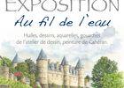 expo au fil de l'eau - Amisep - maison éclusière du Rouvray