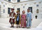 Visite d'Ancy le Franc en costume Renaissance
