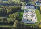 Château d'Ancy-le-Franc, parterre Est