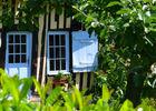 Maison à colombages dans le Pays D'Auge