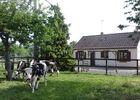 Gite rural à la ferme Barbé Le Mesnil-Simon Cour Balançoire