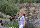 Le jardin de Manou dans le Pays d'Auge