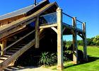 Le Pré des Colombiers à Tordouet, bâtiment du Lodge