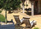 Le Gîte de l'Ecurie du Pré des Colombiers à Tordouet, terrasse
