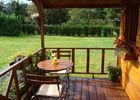 Les Bruyeres - B&B - Sylvie Lacressonniere - Ouilly du Houley  (terrasse)