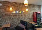Subway restaurant rapide à Lisieux ambiance interieure