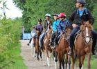 Balade à cheval au Lac de Trémelin