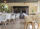 HOTEL ABBAYE - salle de restaurant 1- TRONCHET