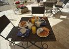 petit déjeuner en été