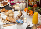 Petit-déjeuner à base de produits frais