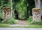 Entrée du parc portail rocaille XVIIIe s.