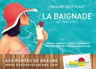 Beaune Côté Plage, baignade naturelle et loisirs aquatiques - visuel 2015