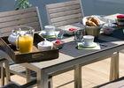 Déjeuner sur terrasse