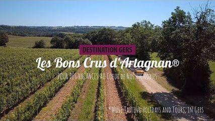 Les Bons Crus d'Artagnan®, pour des vacances au coeur de nos vignobles