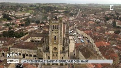 Vue d'en haut : Cathédrale de Saint-Pierre
