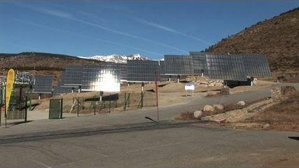 Le nouveau centre photovoltaïque de Thémis