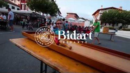 Soirée jeux en bois à Bidart