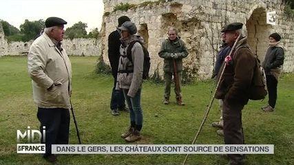 Dans le Gers les Châteaux sont sources de sensations