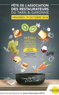 Fête de l'Association des Restaurateurs du Tarn-&-Garonne