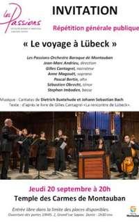 Le voyage de Lübeck