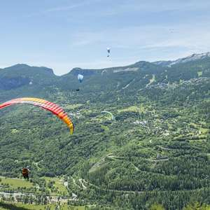 Compétition de parapente - Compétition de vol de distance