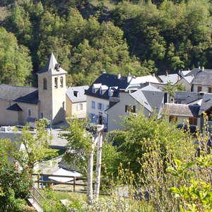 Visite guidée du village de Viella