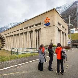 Visites guidées de la centrale hydroélectrique EDF de Pragnères avec Mélanie