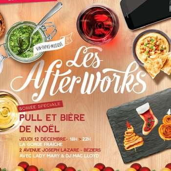 LES AFTERWORKS - PULLS DE NOËL ET BIERES ARTISANALES