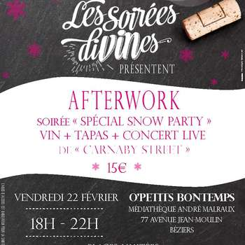 AFTERWORK SPÉCIAL « SNOW PARTY »