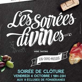 LES SOIREES DIVINES - CLÔTURE 2019
