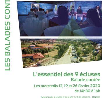 BALADE CONTÉE L'ESSENTIEL DES 9 ÉCLUSES