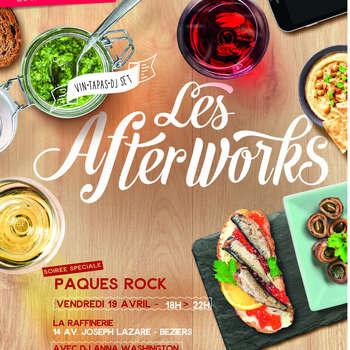 """LES AFTERWORKS - SPÉCIAL """"PAQUES ROCK"""""""